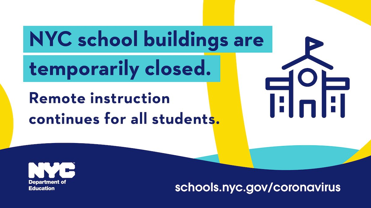 NYC Buildings are Temporarily Closed